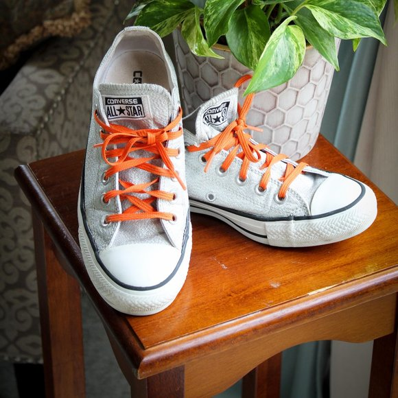 Converse Shoes   Silver Size 7 Womens 5